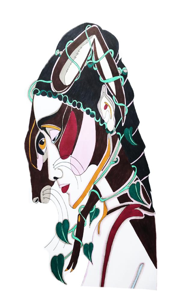 barbed-hare-illustration