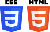 CSS3 and HTML5 logo