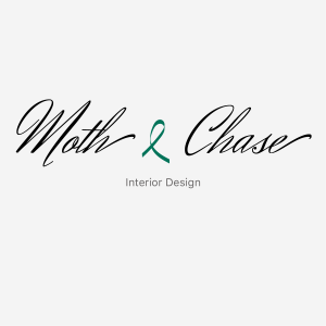 Moth and Chase text logo