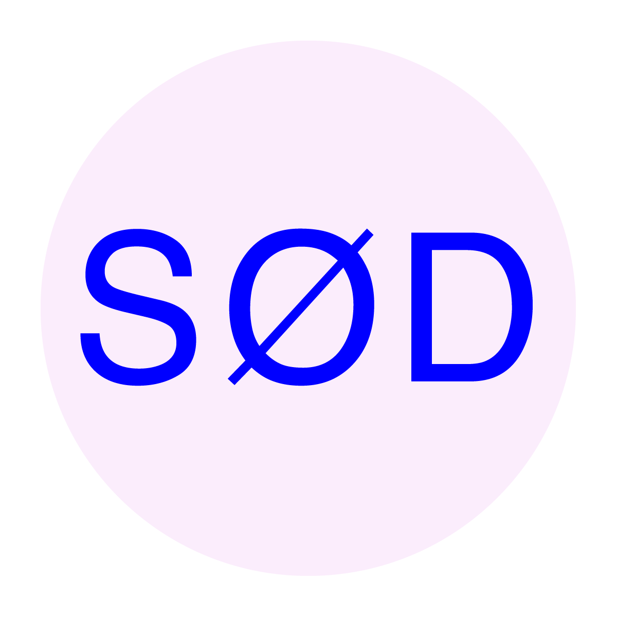 SØD logo in text