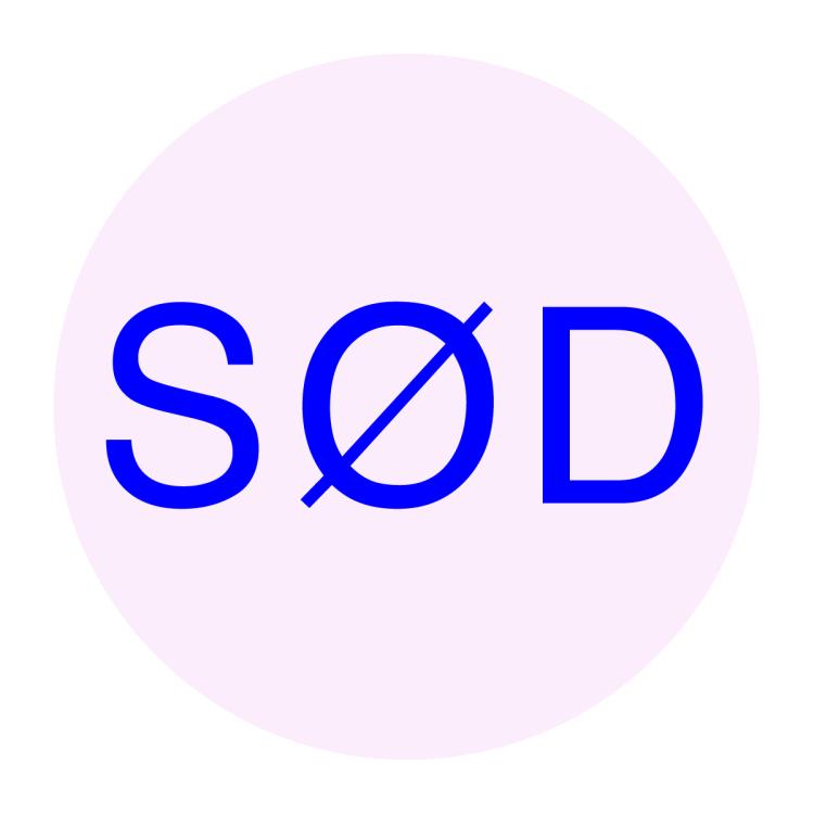 SØD logo in text