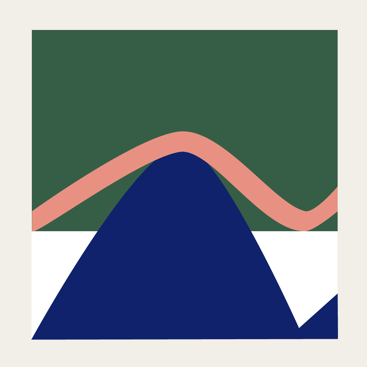 Mountain illustration by Naomi Anne Little