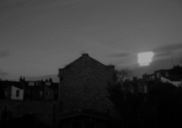 Dwindling light photograph of London