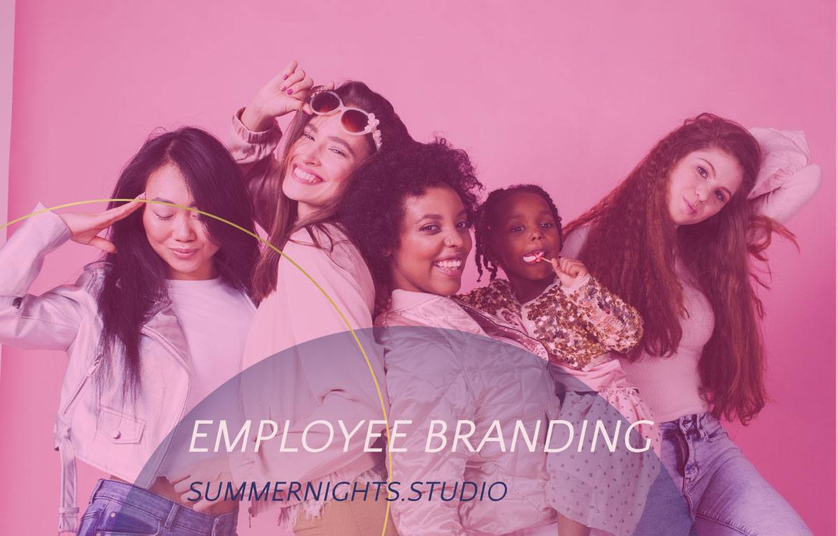 Diversity and inclusion - Girls from all walks of life pose in this pic for Summer Nights Studio